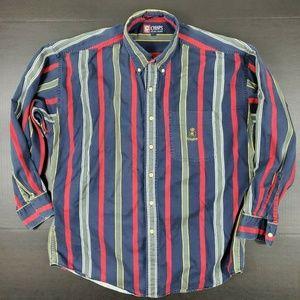 Vintage Chaps Ralph Lauren Men Large Long Sleeve